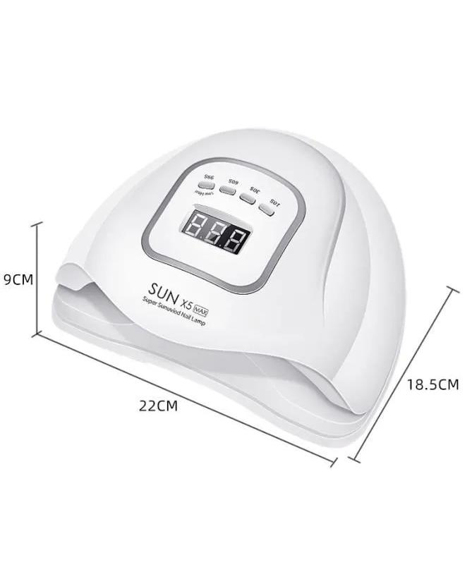 ابعاد دستگاه UV - LED سان ایکس 5 مکس