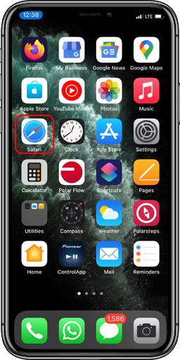 مراحل نصب اپلیکیشن آیفون ios فروشگاه لوازم کاشت ناخن کاج نیل