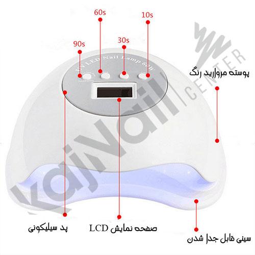 دستگاه UV LED سان 60 وات