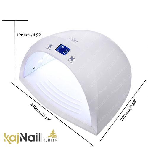 ابعاد دستگاه UV LED UV 3 PLUS شارژِی