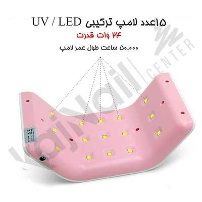 قدرت لامپ یو وی ال ای دی T1