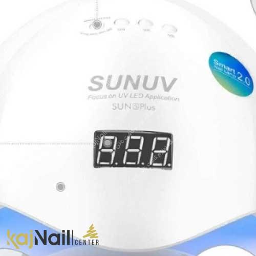 دکمه ها و صفحه دستگاه یو وی ال ای دی سان 5 پلاس